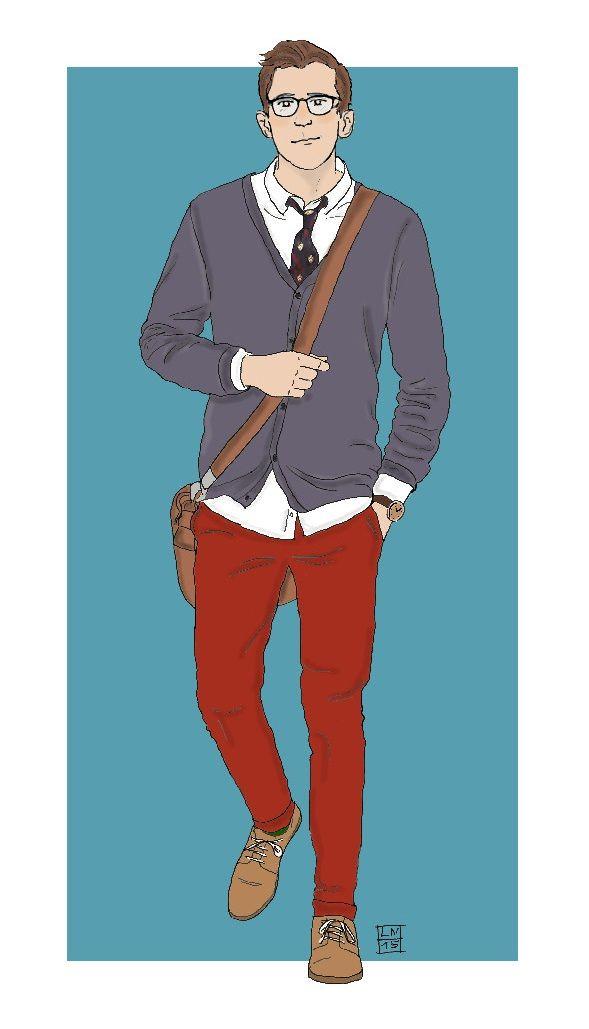 Modern Hobbit characters: Ori (by Kaye Magistro)
