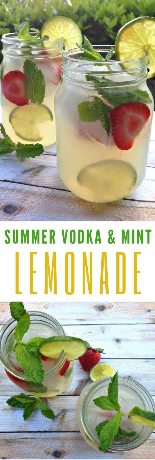 Photo of Refreshing summer drinks: vodka-mint-lemonade-cocktail with Stoli #Cocktail …