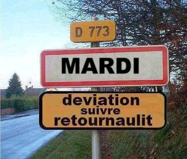 """Résultat de recherche d'images pour """"mardi humour"""""""