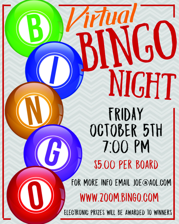 Virtual Bingo Flyer Editable Event Flyer Poster Instant Etsy Bingo Flyer Event Flyer Flyer