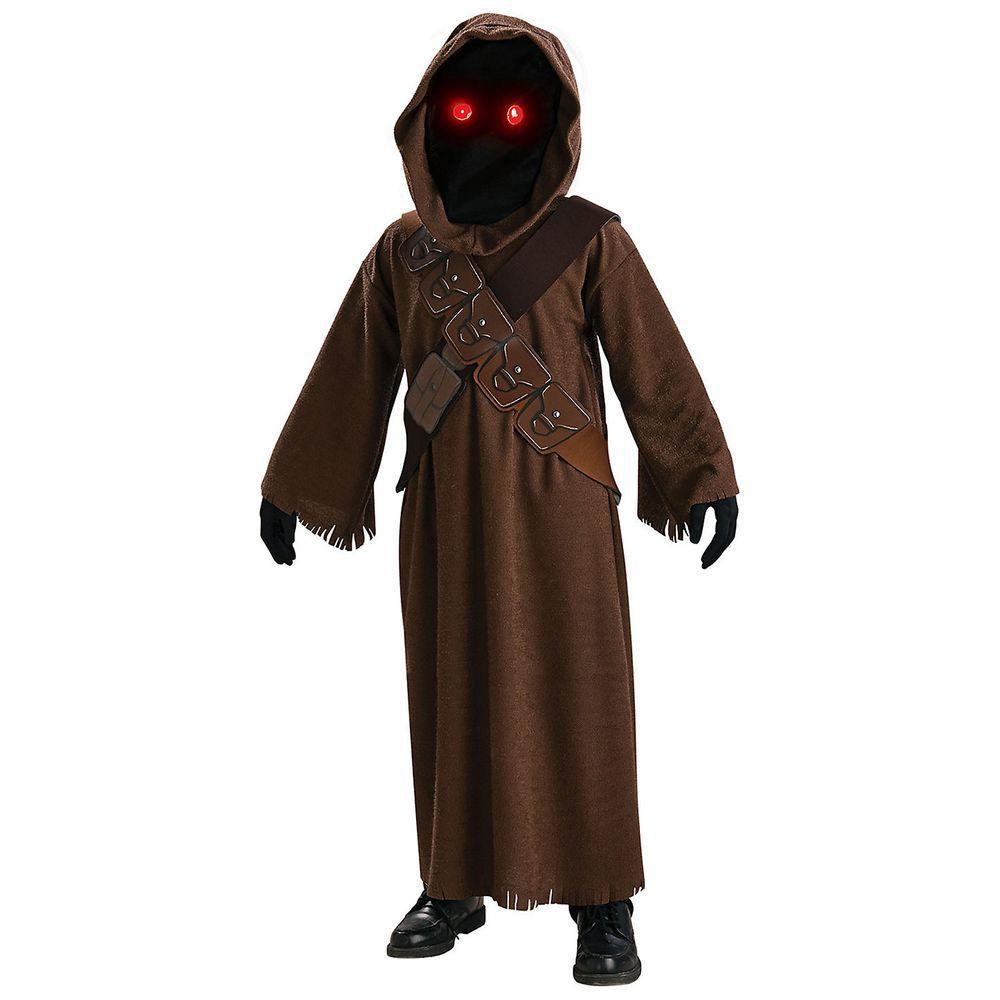Halloween 2020 Costumes Top Boys Star Wars Rubie's Costumes Medium Boys Star Wars Jawa Costume R883737_M