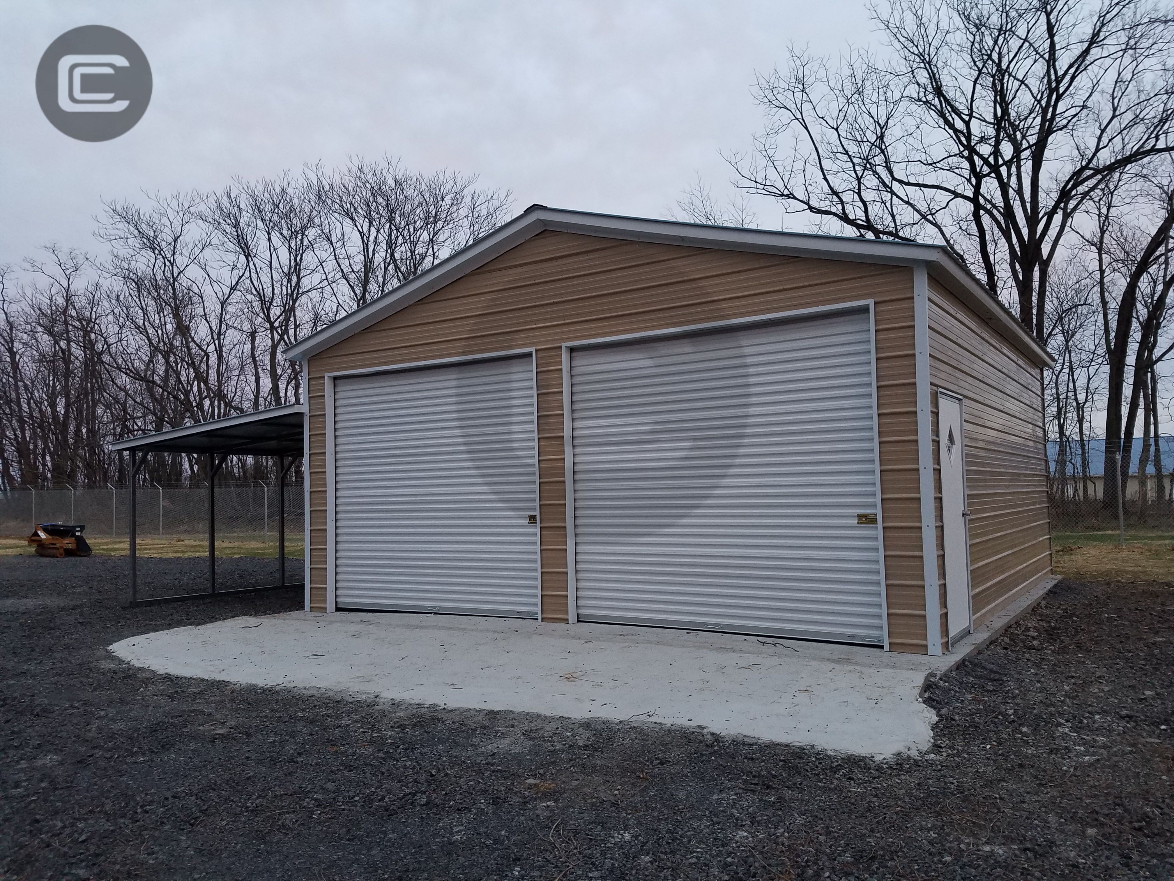 Carport Central's install of the week is this 24×30 Metal