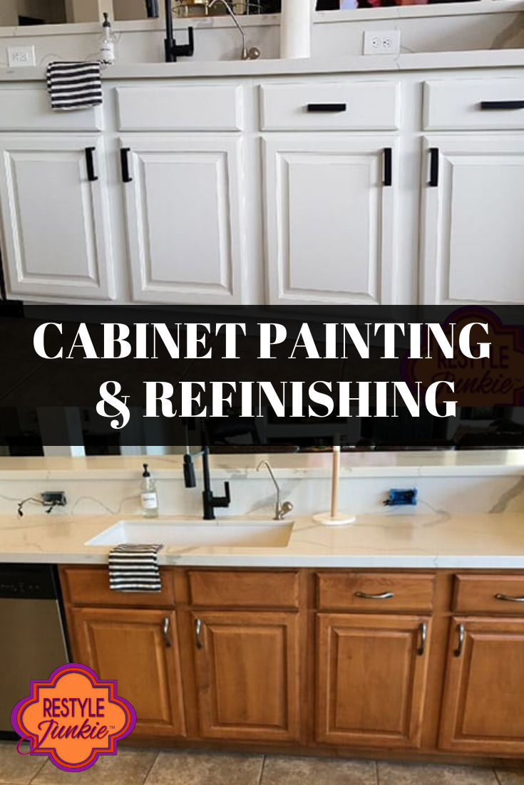 Services Hire Us Done For You Refinishing Cabinets Painting Cabinets Cabinet