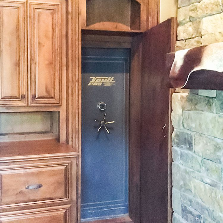 Hidden Vault Door Exposed Vault Doors Pinterest