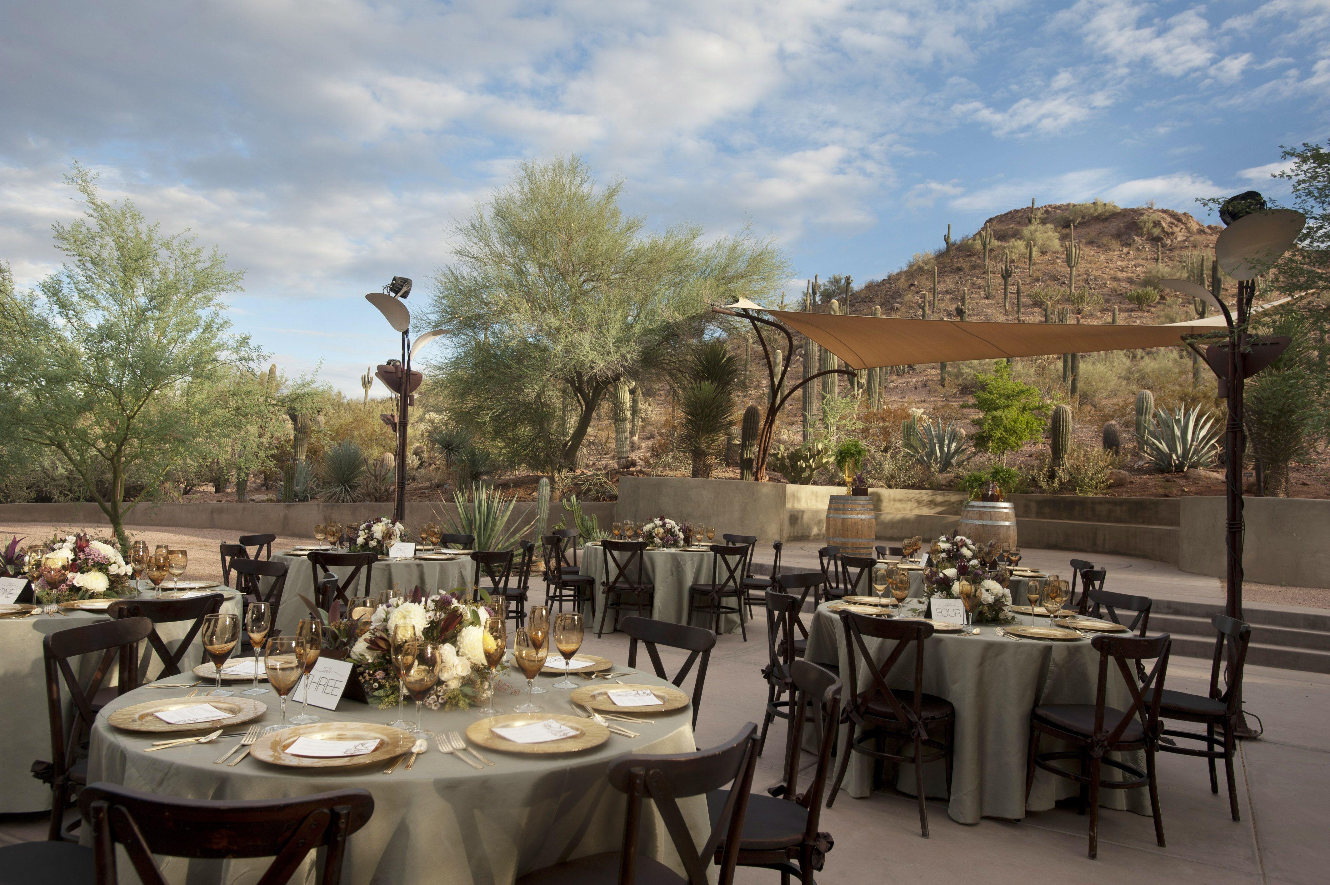 Event venue phoenix desert botanical garden outdoor