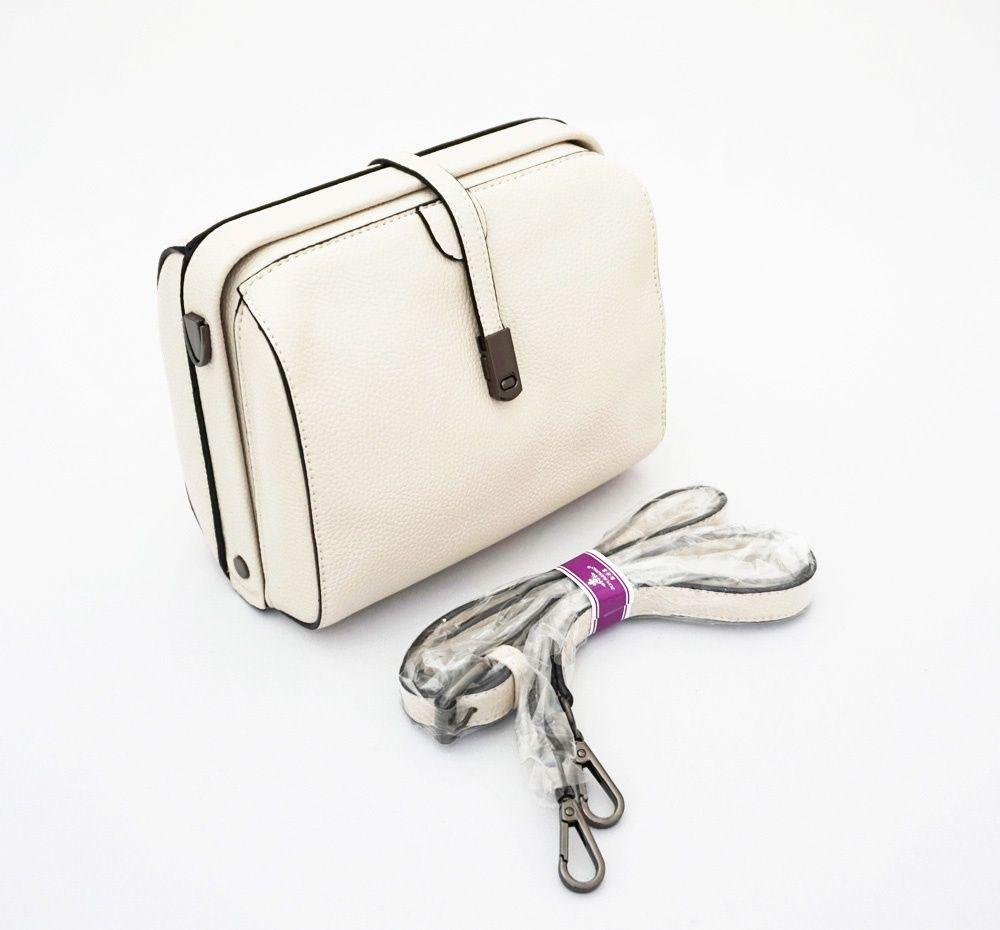 Cailtyn Korean Bag Tas Wanita Import Model Style Tali Selempang Fashion Korea Panjang Warna Broken White Uk 20x9x15