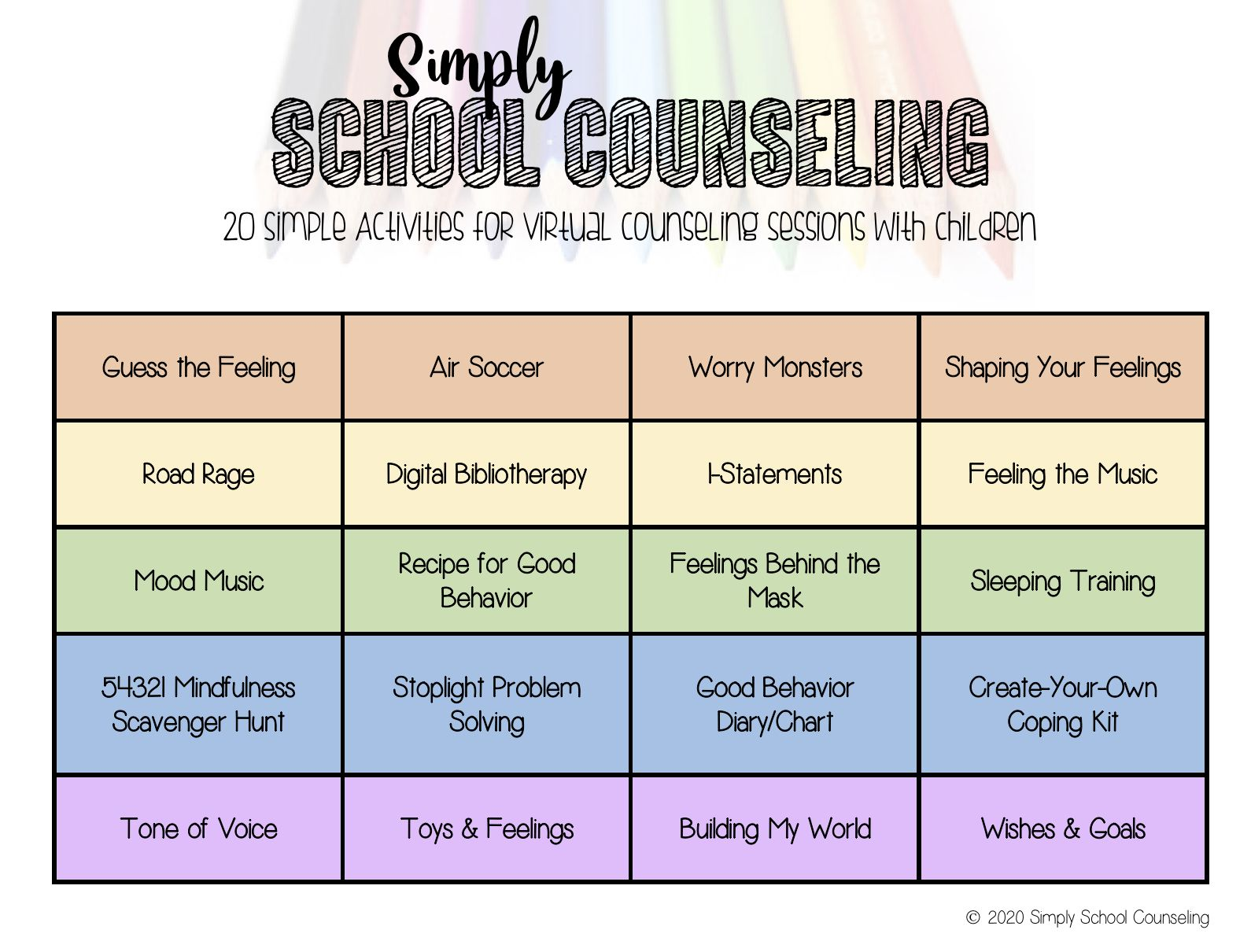Pin On Guidance Lessons Amp School Counselor Ideas