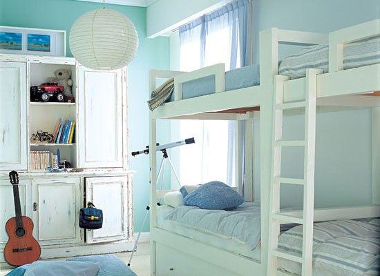 Globo en dormitorio infantil