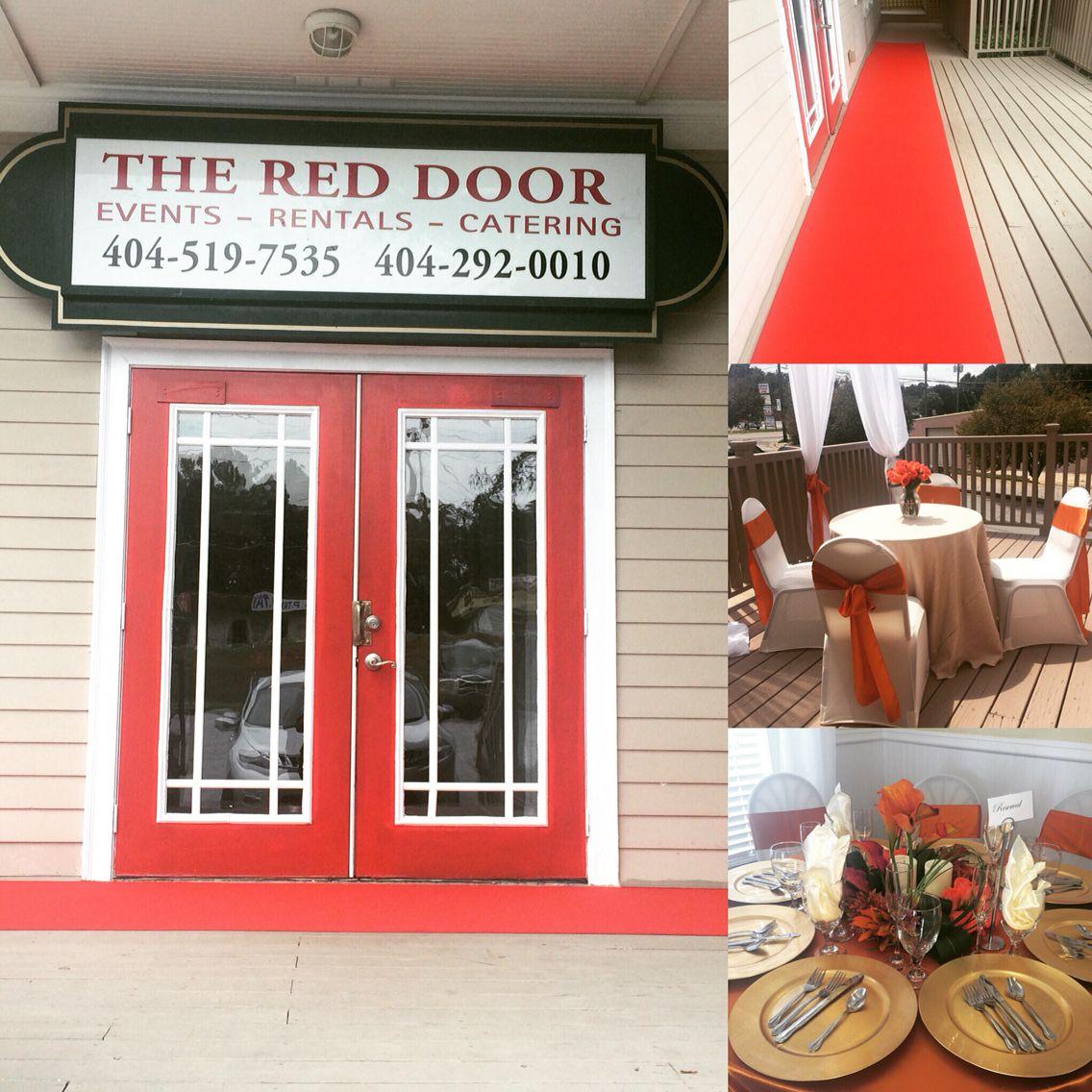 The Red Door, located in Stone mountain GA | The Red Door Event ...