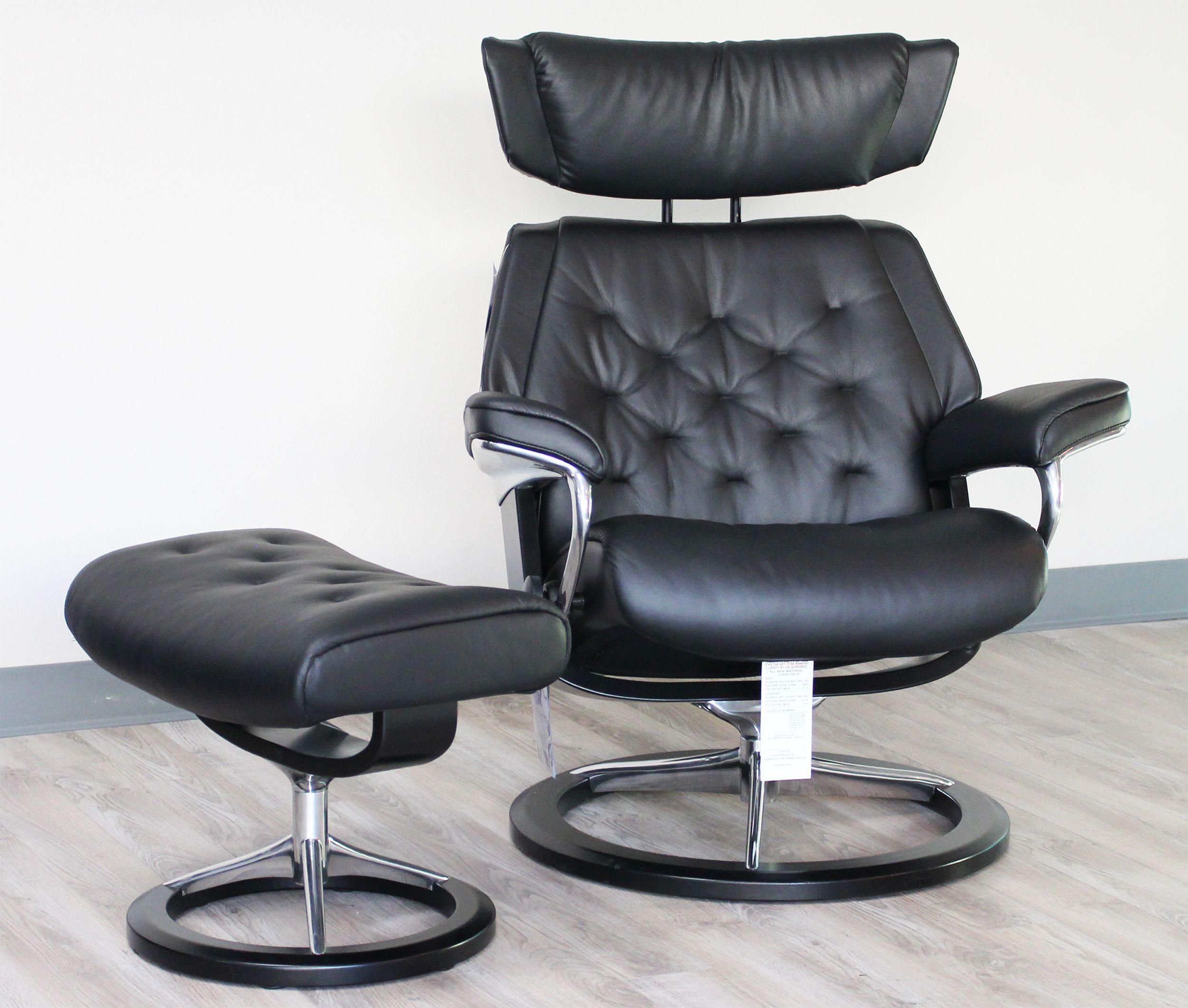 Stressless Chair Stressless Pacific Large Ergonomic Khaki Paloma