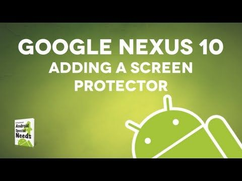 How to Add a Screen Protector to a Tablet from Getting