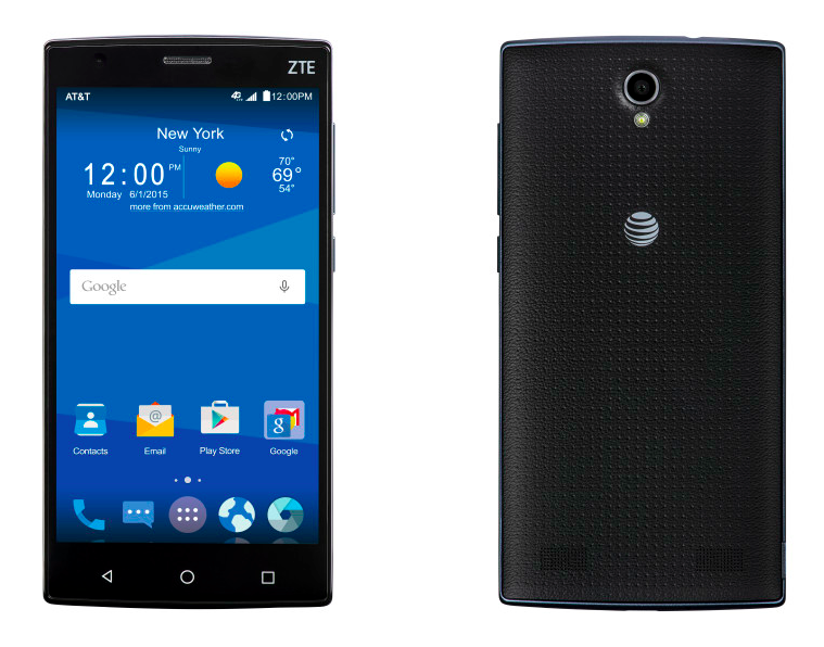 Budget ranged ZTE ZMAX 2 launching via AT&T on September