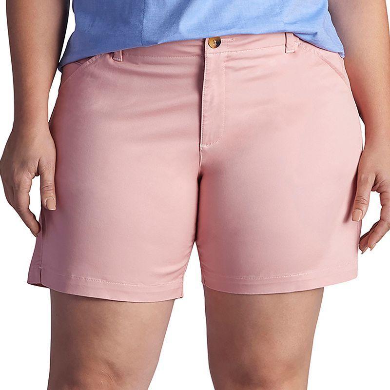 Plus Size Lee Chino Bermuda Shorts, Women's, Size: 25 - regular ...