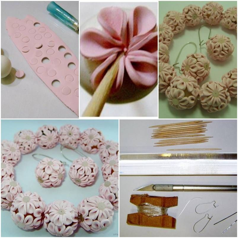 How to make clay flower ball step by step diy tutorial how to make clay flower ball step by step diy tutorial instructions how to solutioingenieria Gallery