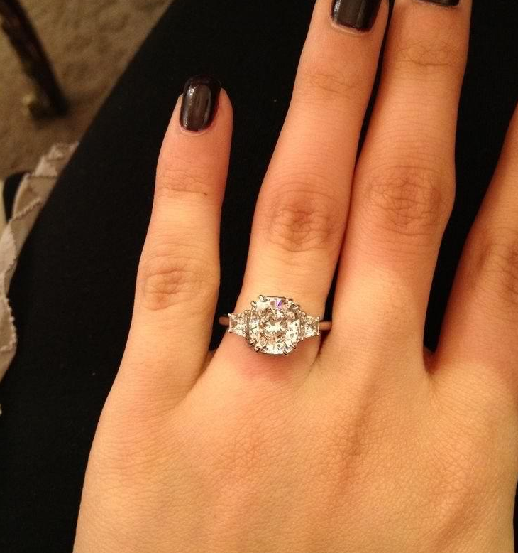 Lovely Perfect Engagement Rings