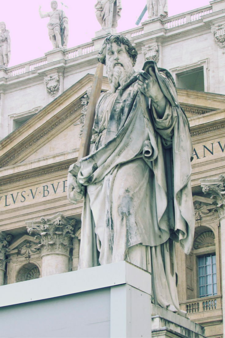 ST PETER AT ST PETER'S BASILICA
