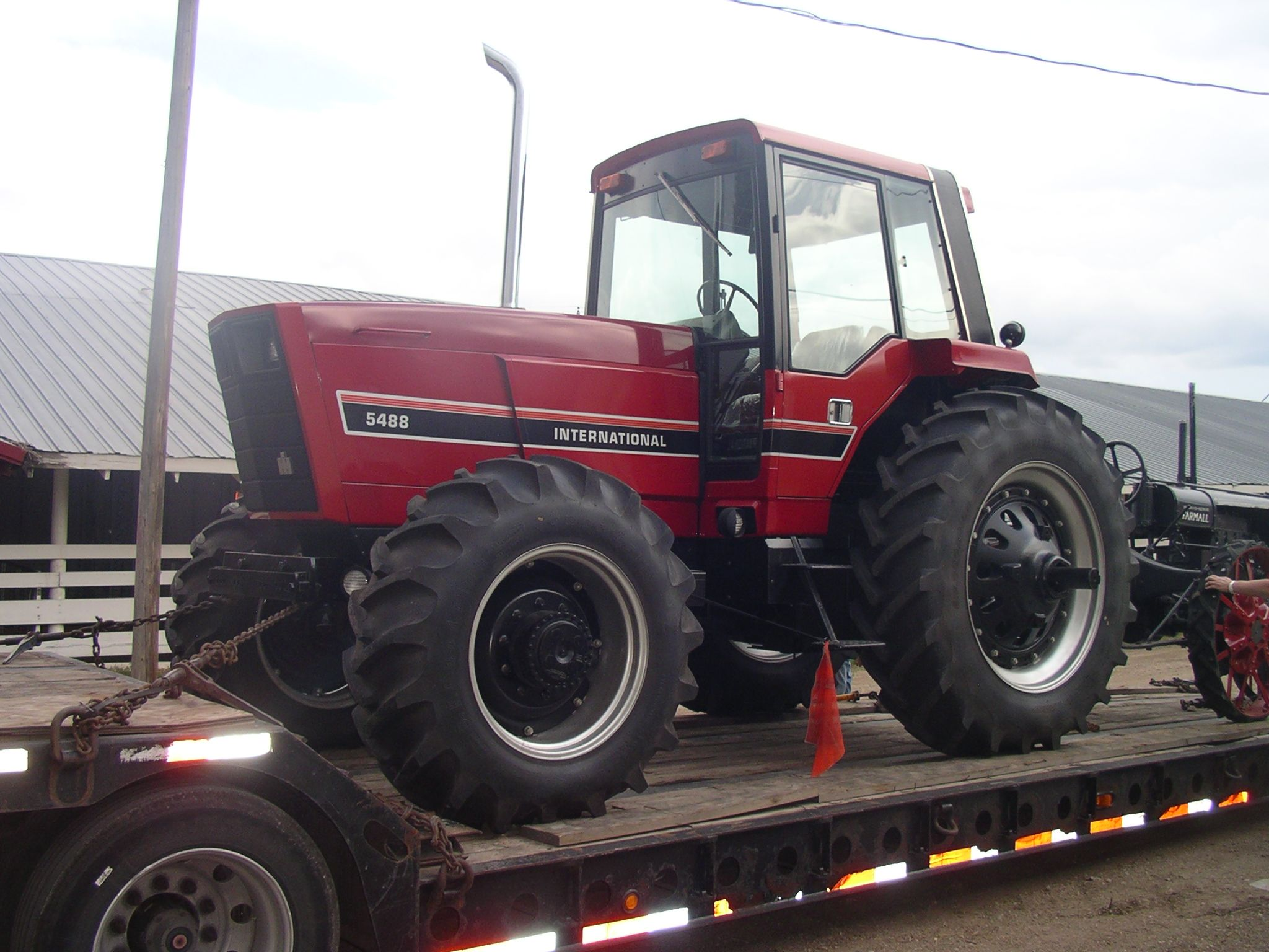 Ih 5488 Last Tractor Off The Rock Island Assembly After Tenneco