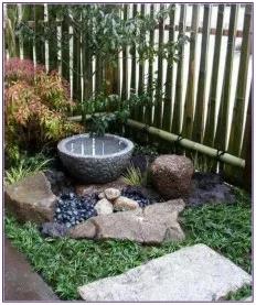 28 Small Garden Design for Small Backyard Ideas -   11 garden design Water patio ideas