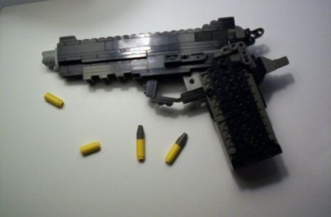 Metal Gear Solid 4 Lego Gun | Ps3 Maven | Frederik | Pinterest ...