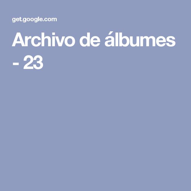 Archivo de álbumes - 23