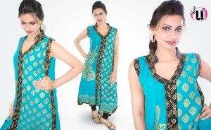 Aneesa Unus Beautiful New Casual Dresses 2014 For Ladies (1)