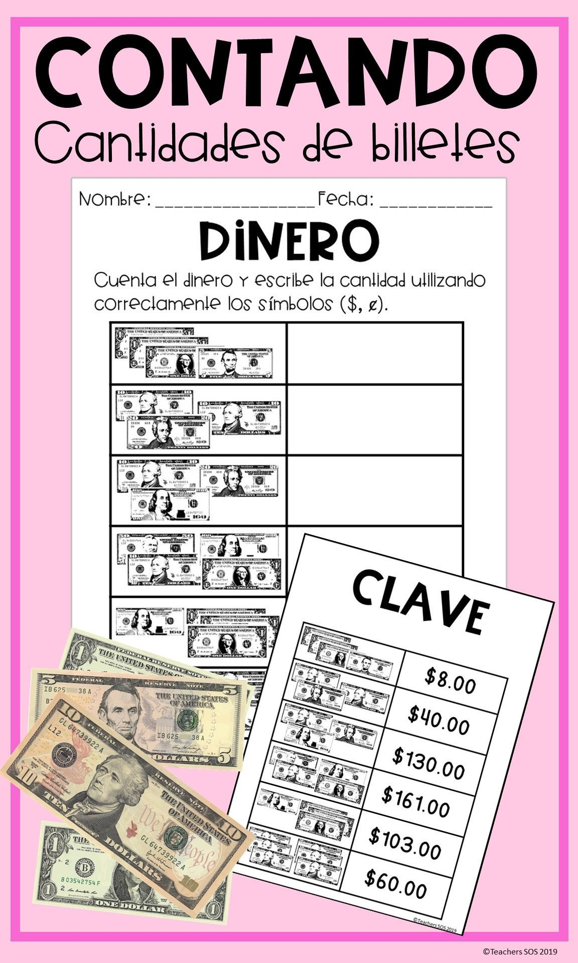 Pin On Hojas De Matematicas Spanish Math Worksheets