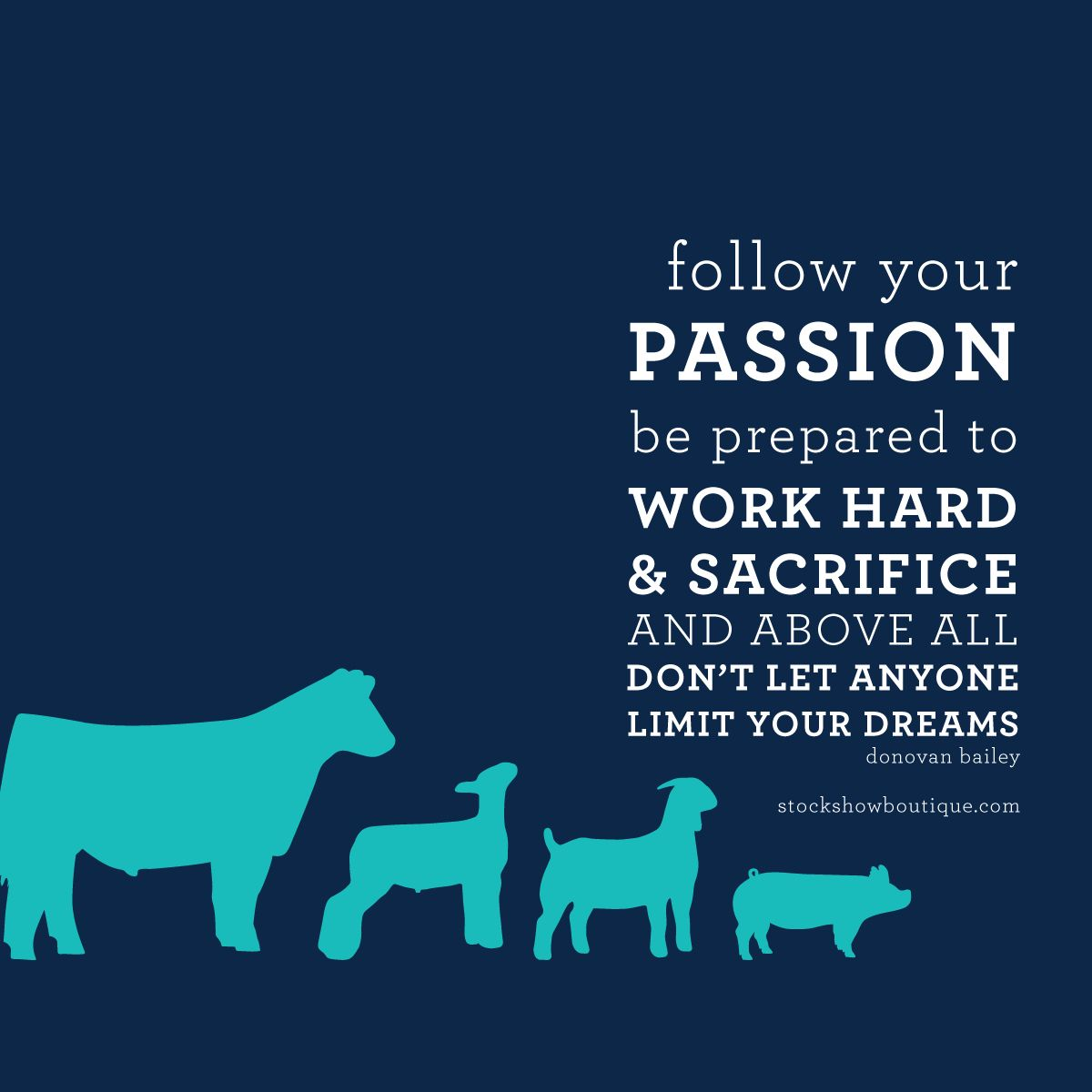 4 H Quotes Passion Dedication & Dreams Are Always A Recipe For Wild Success