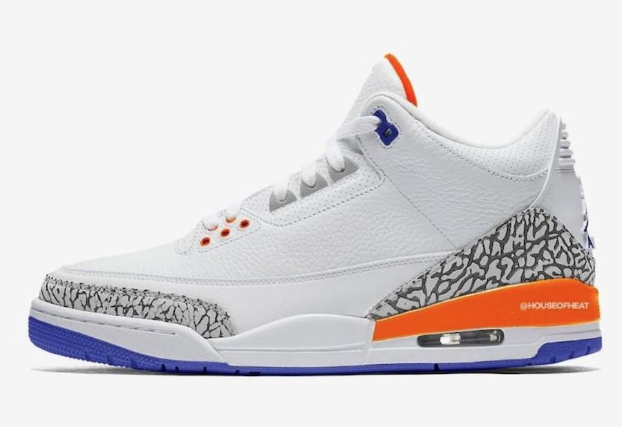 "Air Jordan 3 ""Knicks Rivals"" Release Date"