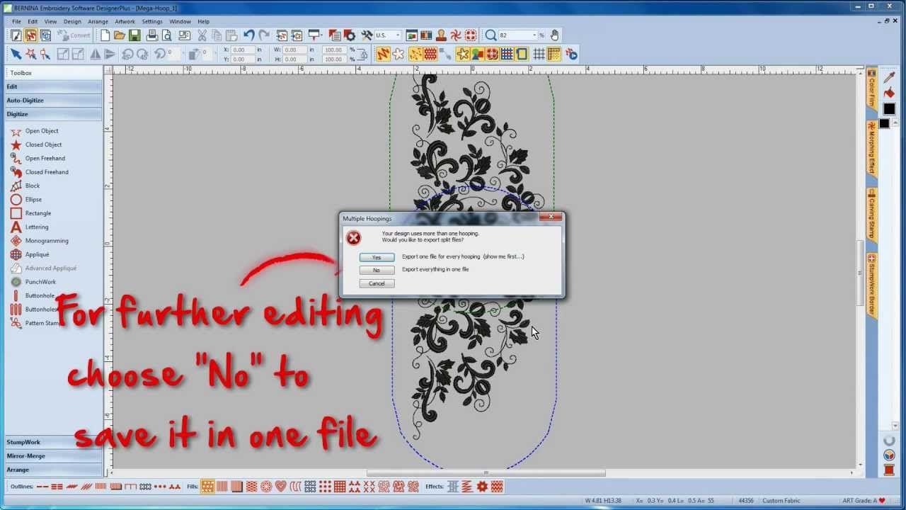 Bernina Art Design Embroidery Software