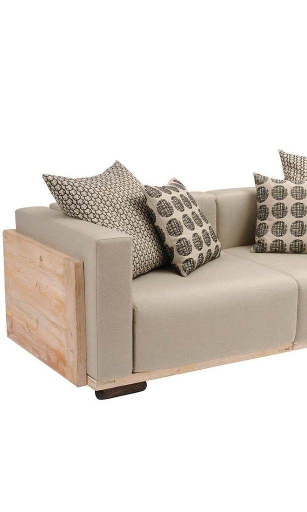 Sofa für draußen in Hellbraun Mehr Gartensofas https\/\/www - loungemobel garten grau