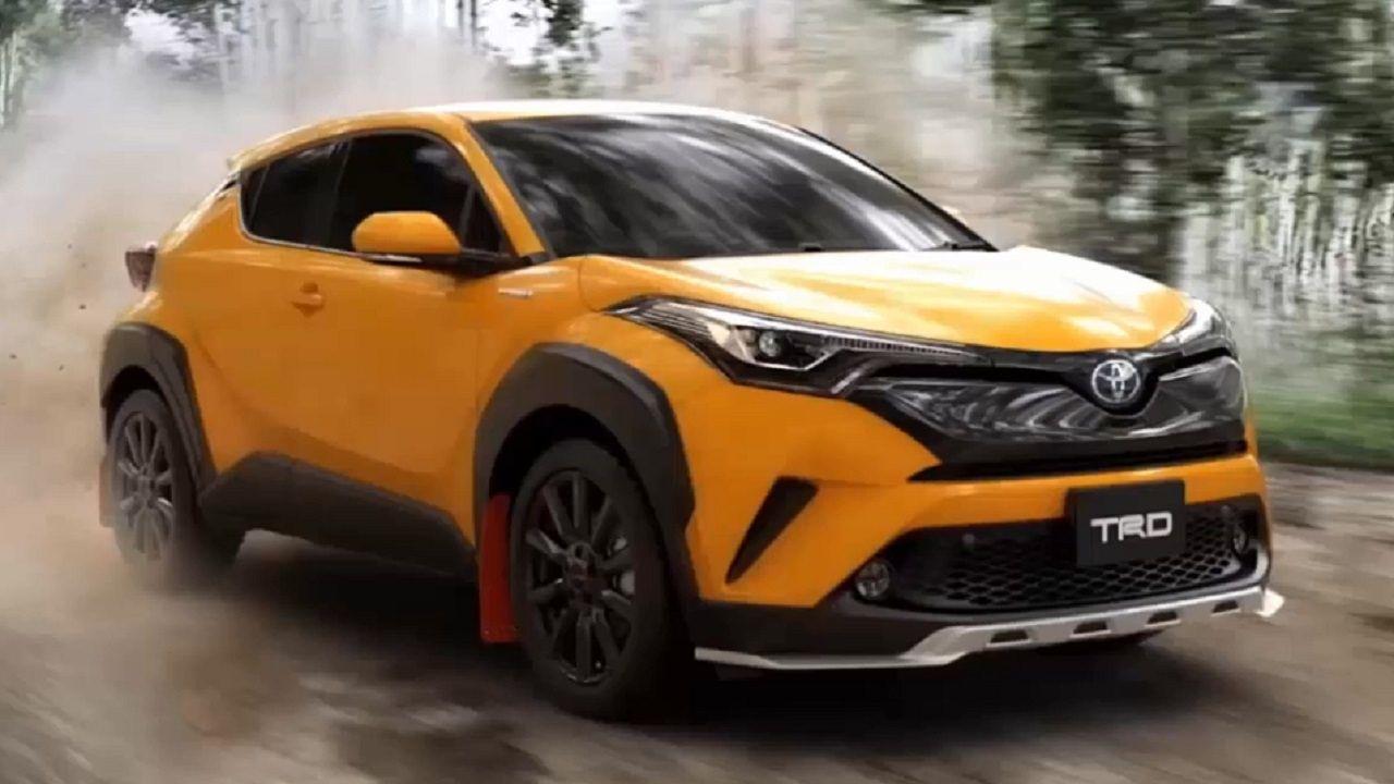 2018 toyota c hr trd sexy car