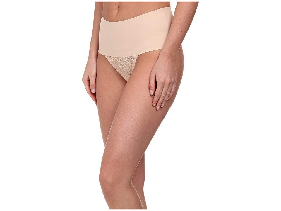 SPANX Womens Undie-Tectable Lace Thong