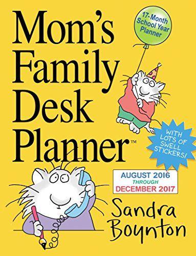Mom's Family Desk Planner 2017 - http://www.darrenblogs.com/2016/09/moms-family-desk-planner-2017/
