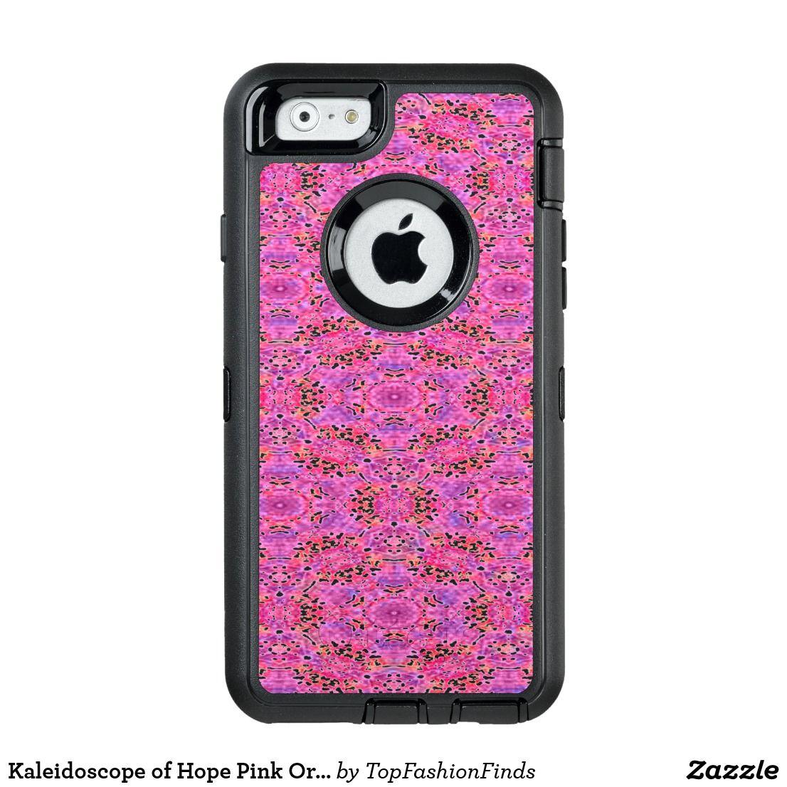 Kaleidoscope of Hope Pink Orange Purple OtterBox iPhone