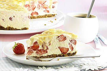 Erdbeer Karamell Torte Rezept Karamell Torte Kuchen Und Torten Und Karamell Rezept