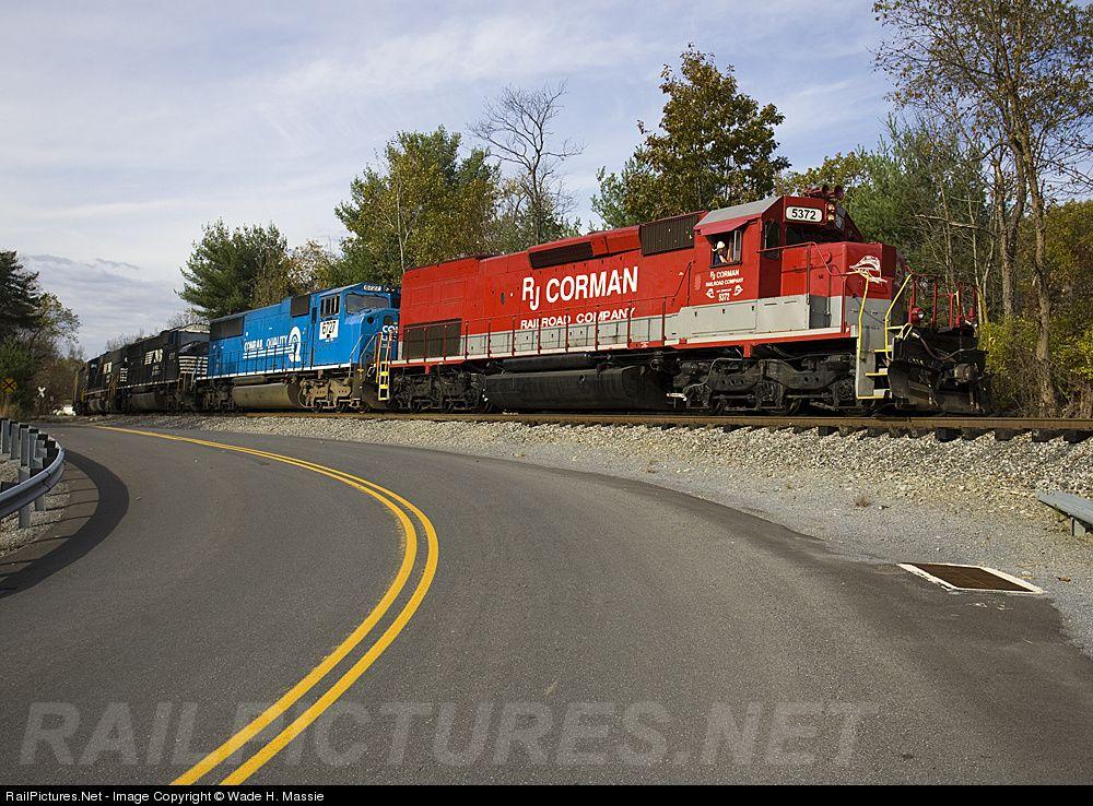 RailPictures.Net Photo: RJC 5372 R.J. Corman Railroads EMD SD40T-2 at Fallen Timber, Pennsylvania by Wade H. Massie