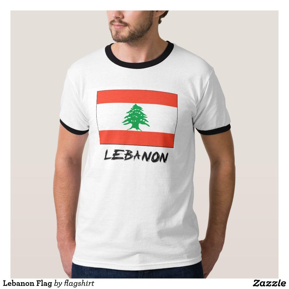 Lebanon Flag T Shirt