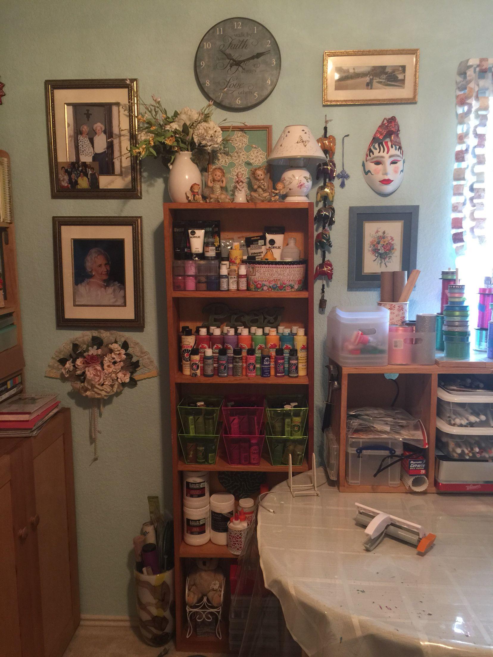 Monica's craft room