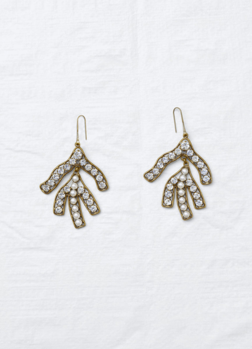 aab6a8dbb CÉLINE REEF EARRINGS | Jewelry in 2019 | Celine earrings, Jewelry ...