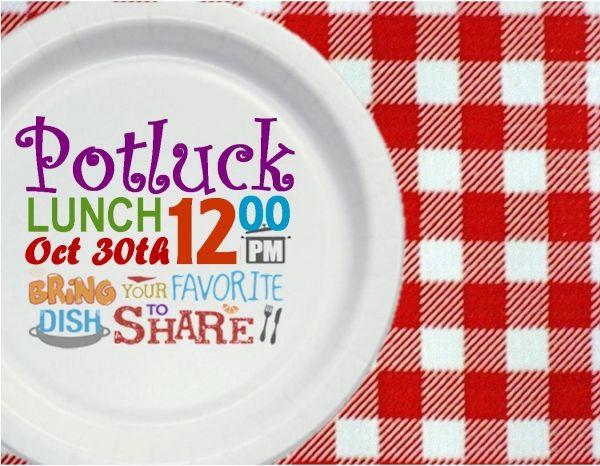 Potluck Invitation Templates Free Potluck Lunch