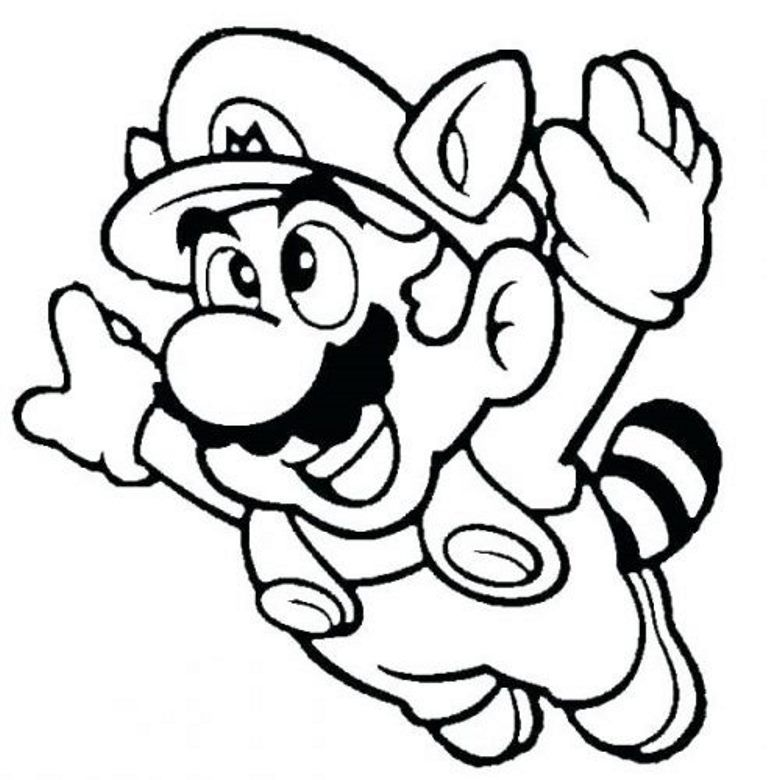 Here You Can Check The Collection Of Super Mario Coloring Pages