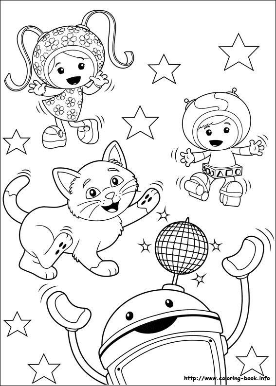 Umizoomi coloring picture Coloring and Activities Pinterest