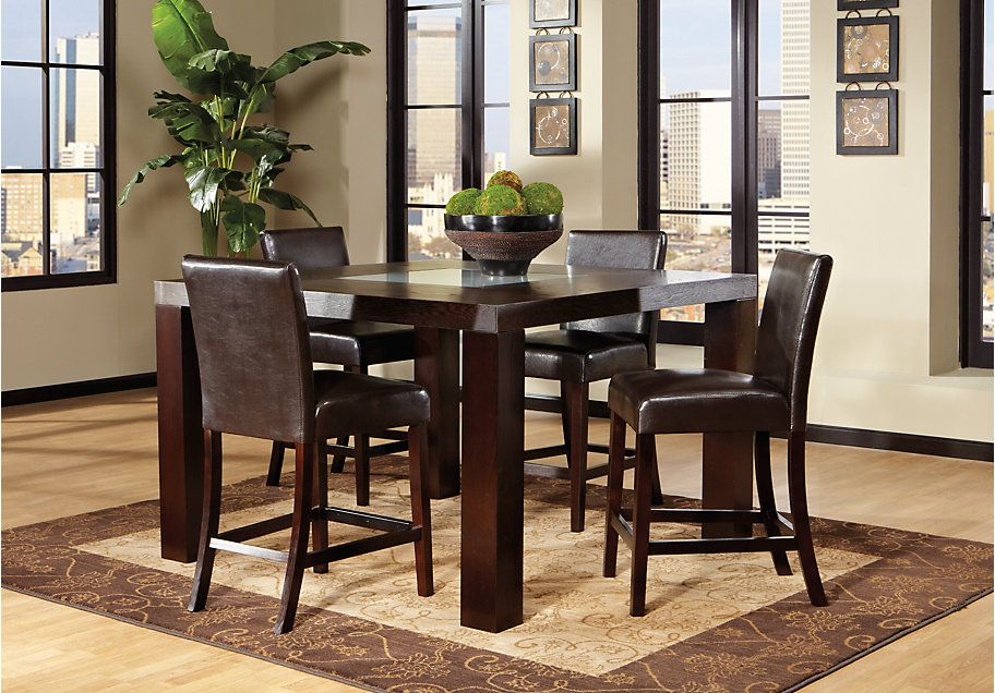 Spiga Espresso Dining Room Collection 79999