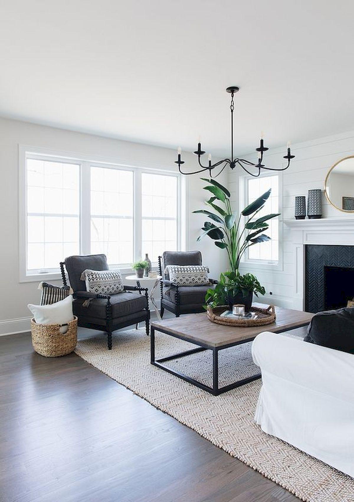 33 Awesome Farmhouse Small Apartment Decor Ideas And Design #modernfarmhouselivingroom