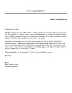 Thank You Letter Client For Business Recommendation After Project