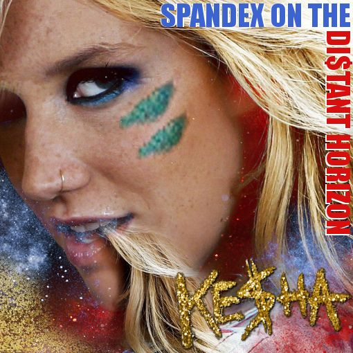 Image result for kesha spandex on the distant horizon