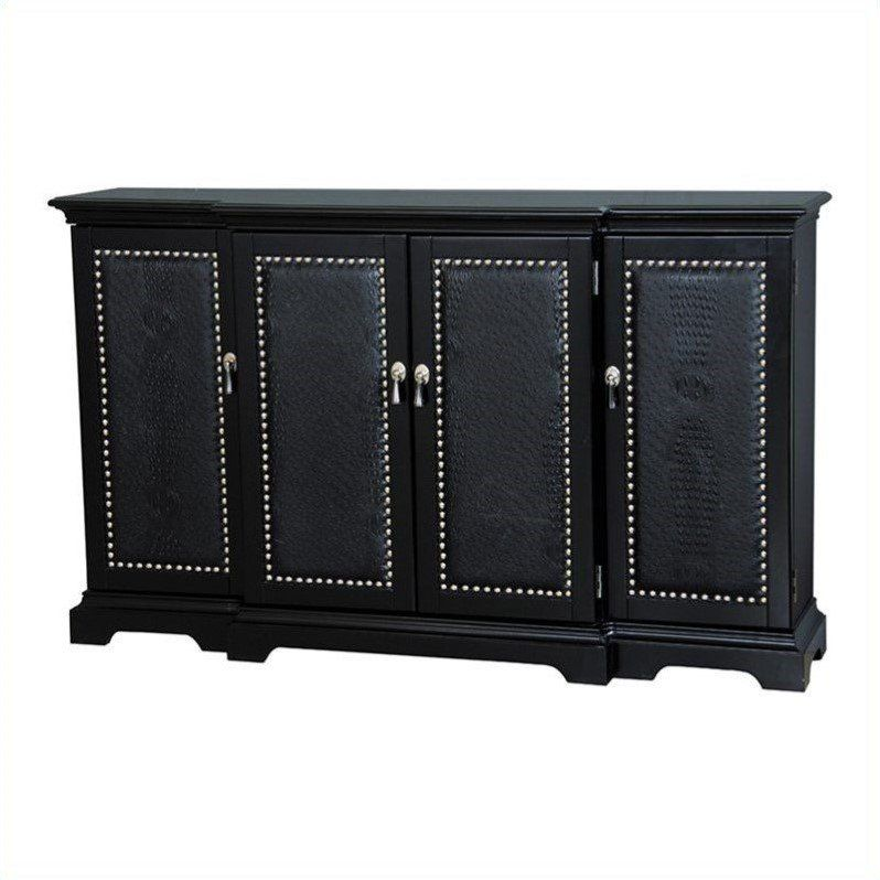 Cosmopolitan ebony console table