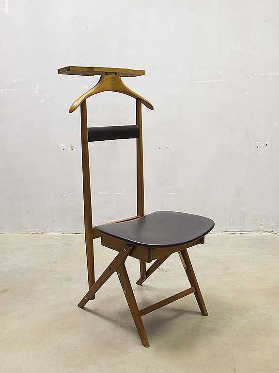 Valet chair dressboy Fratelli Reguitti Italy 1960 s Ico Parisi