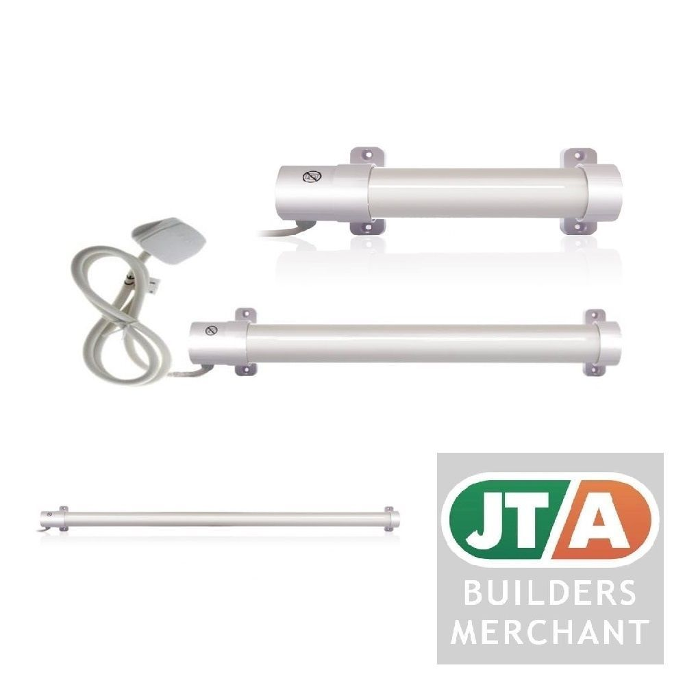 HYCO TUBULAR HEATER 4 FOOT TWIN PACK TUBE KENNEL GREENHOUSE SHED CARAVAN GARAGE