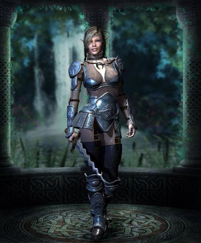 elves Female warrior